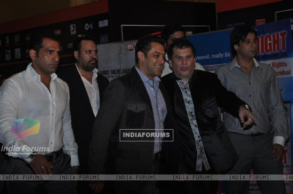 Salman Khan at Global Indian Music Awards at Yash Raj Studios
