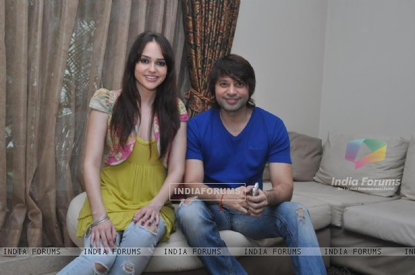 Maradona Rebello and Hazel at Press meet of 'Dunno Y Na Jaane Kyun...'