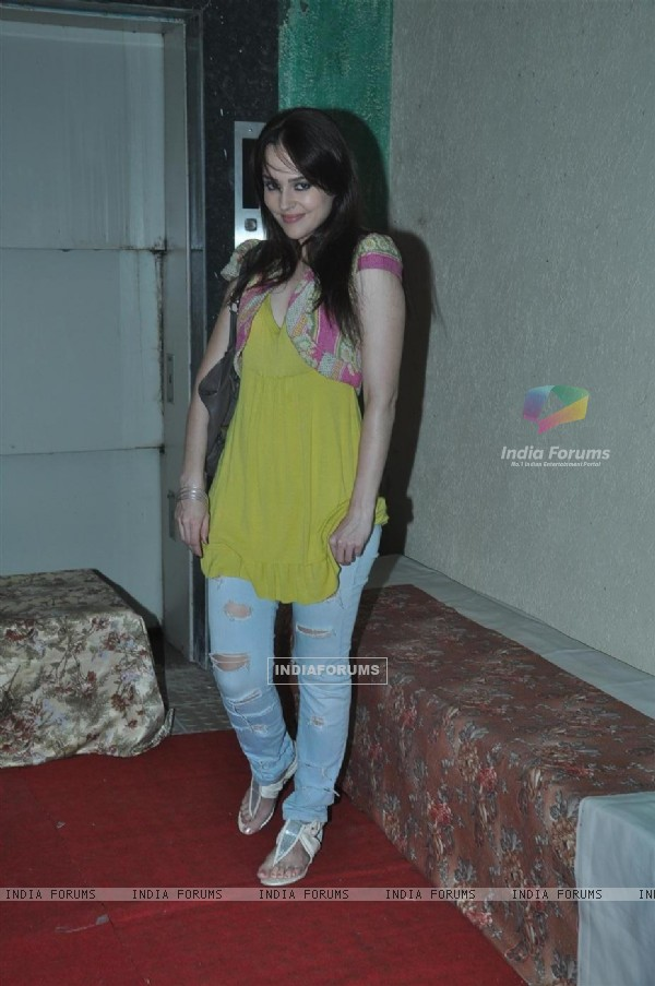 Hazel at Press meet of 'Dunno Y Na Jaane Kyun...'