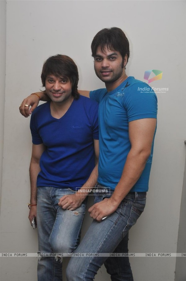 Kapil Sharma and Maradona Rebello at Press meet of 'Dunno Y Na Jaane Kyun...' (106918)