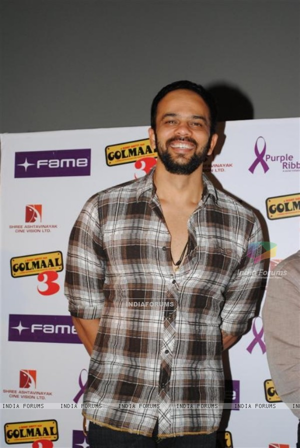 Rohit Shetty celebrate success of their film with underprivileged kids on Children's Day at FAME Cin