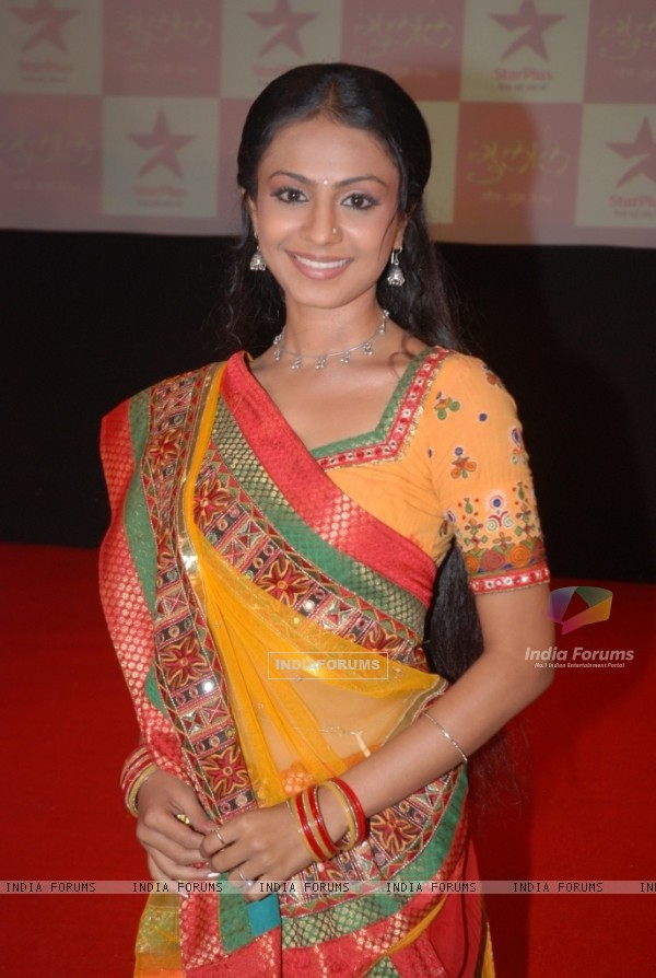 Protagonist Mansi Parekh at the premier of Star Plus Gulaal