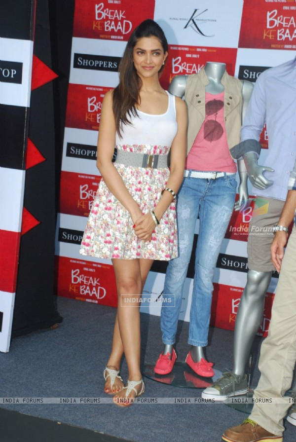 Deepika Padukone at Shoppers Stop Break ke Baad Merchandise launch at PVR