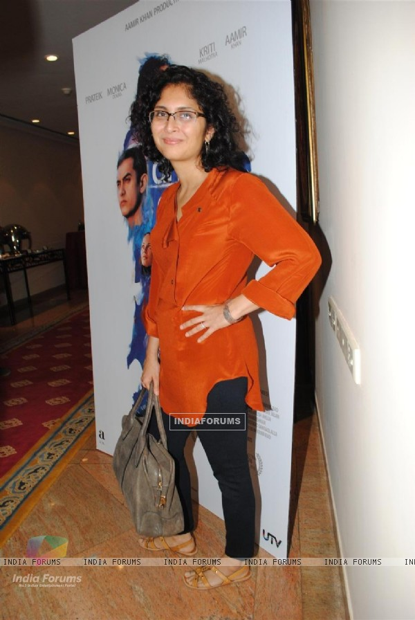 Kiran Rao at Dhobi Ghat First Look at Intercontinental, Mumbai (107818)