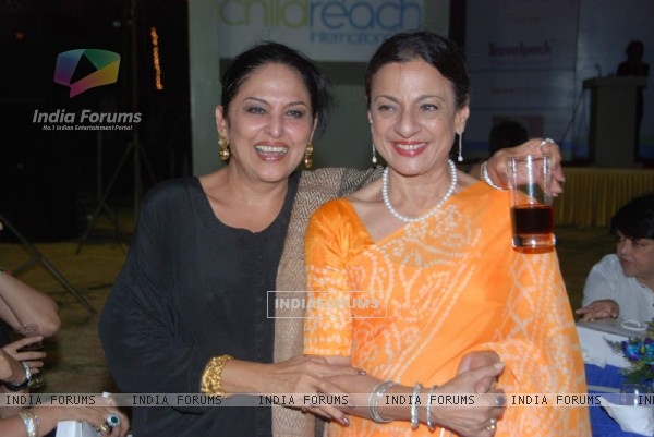 Tanuja Mukherjee and Anju Mahendroo at Child Reach NGO event