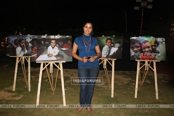 Narayani Shastri at Child Reach NGO Event