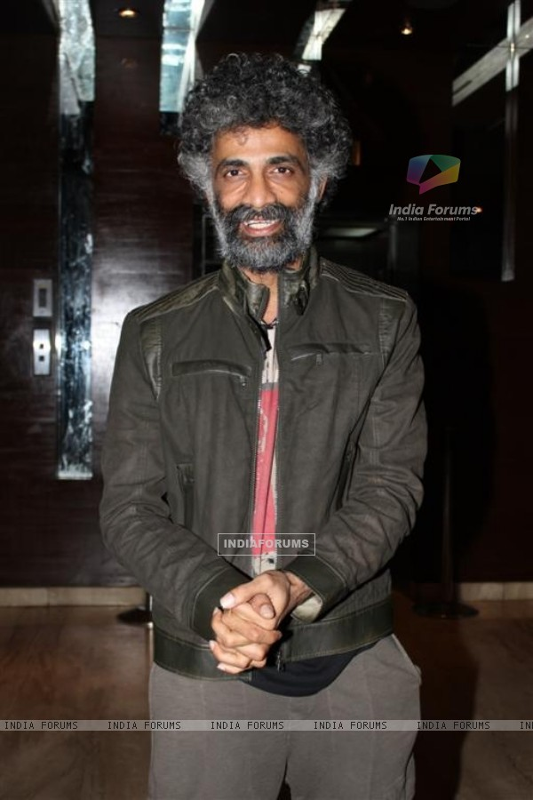 Makrand Deshpande at Shahrukh Bola Khoobsurat Hai Tu film premiere at Cinemax
