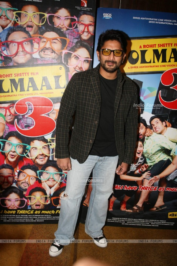 Arshad Warsi at Golmaal 3 success bash, Hyatt Regency (108450)
