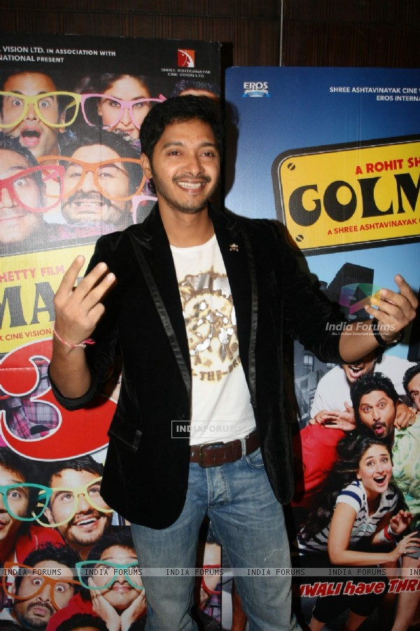 Shreyas Talpade at Golmaal 3 success bash, Hyatt Regency (108451)