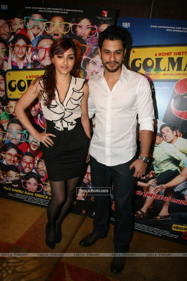 Kunal Khemu and Soha Ali Khan at Golmaal 3 success bash, Hyatt Regency (108452)