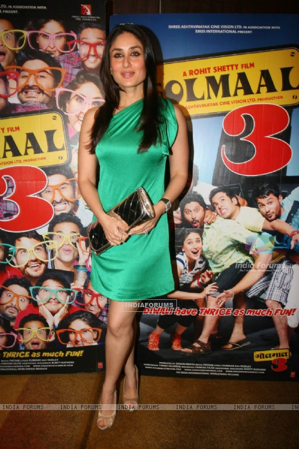 Kareena at Golmaal 3 success bash, Hyatt Regency (108453)