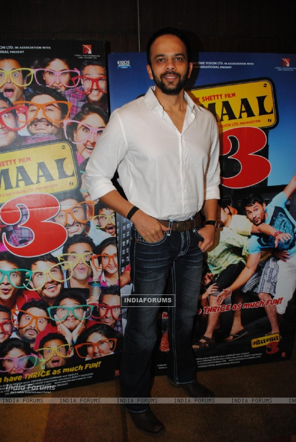 Rohit Shetty at Golmaal 3 success bash at Hyatt Regency (108559)