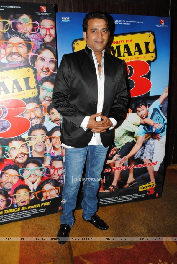 Ravi Kissen at Golmaal 3 success bash at Hyatt Regency (108562)