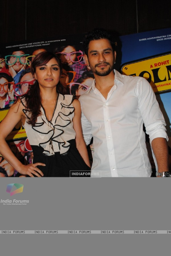 Kunal Khemu and Soha Ali Khan at Golmaal 3 success bash, Hyatt Regency (108570)