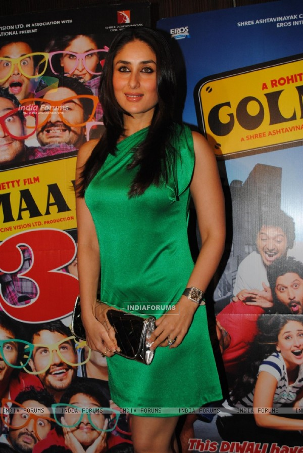 Kareena Kapoor at Golmaal 3 success bash at Hyatt Regency