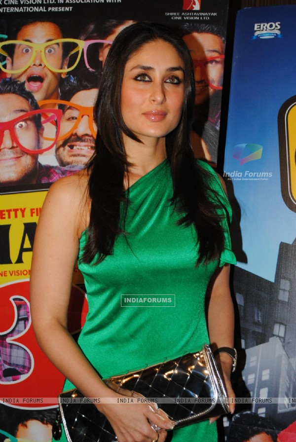 Kareena Kapoor at Golmaal 3 success bash at Hyatt Regency (108575)