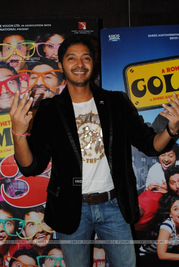 Shreyas Talpade at Golmaal 3 success bash, Hyatt Regency (108577)