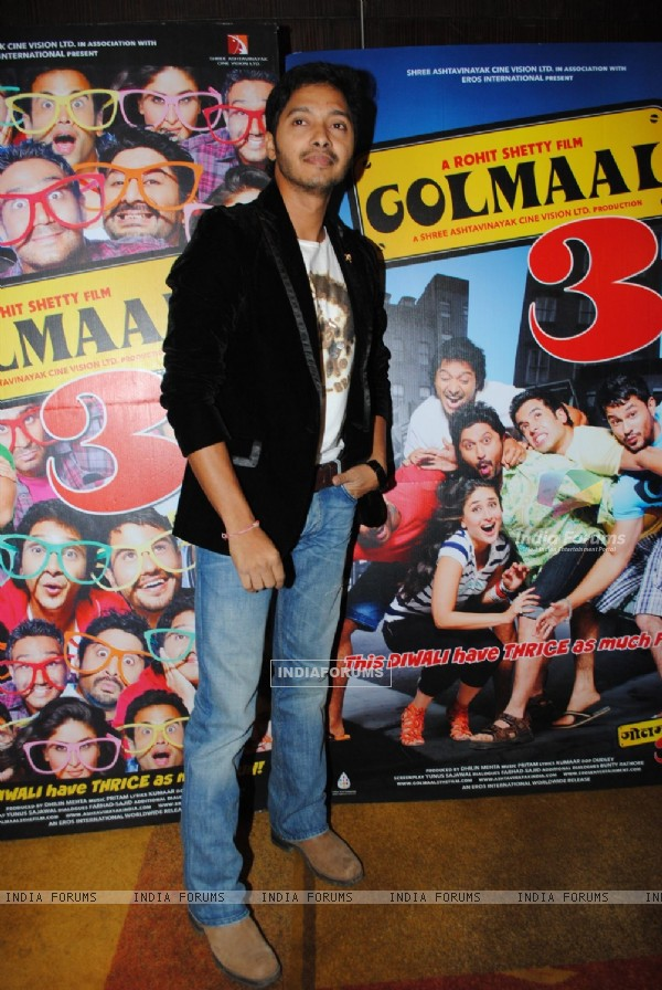 Shreyas Talpade at Golmaal 3 success bash, Hyatt Regency (108578)