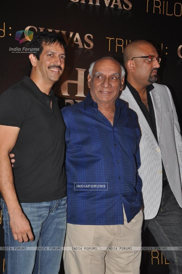 Yash Raj Chopra at Chivas Studio Spotlight event