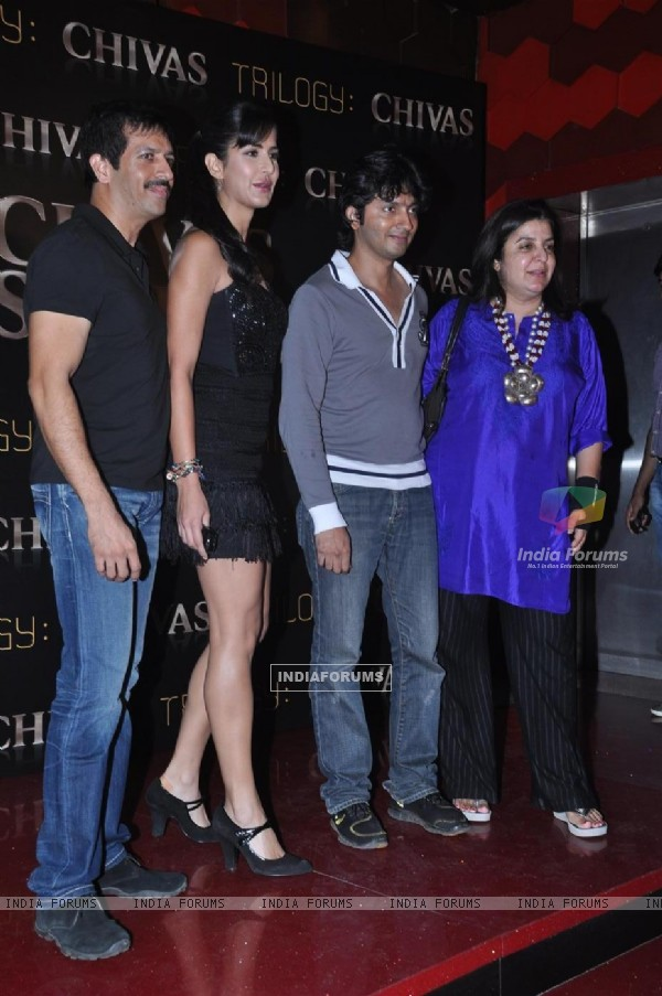 Katrina Kaif and Farah Khan at Chivas Studio Spotlight event
