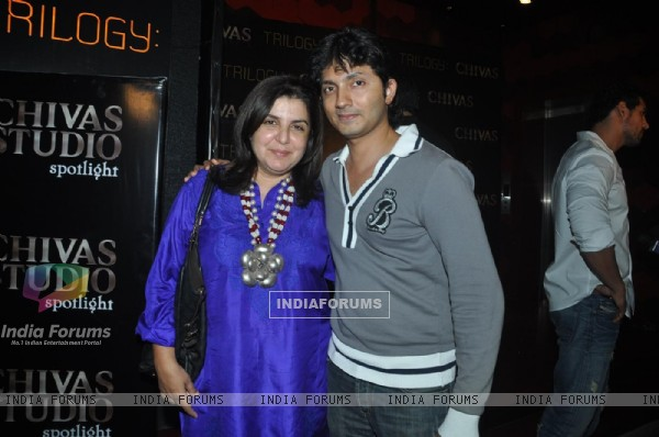 Farah Khan at Chivas Studio Spotlight event