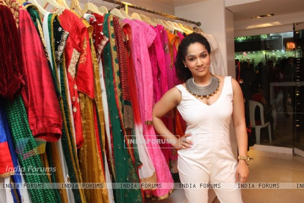 Innaguration of fashion designer Masaba Gupta's first standalone store''MASABA''