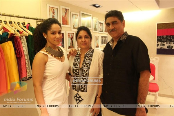 Neena Gupta at innaguration of fashion designer Masaba Gupta's first standalone store''MASABA''