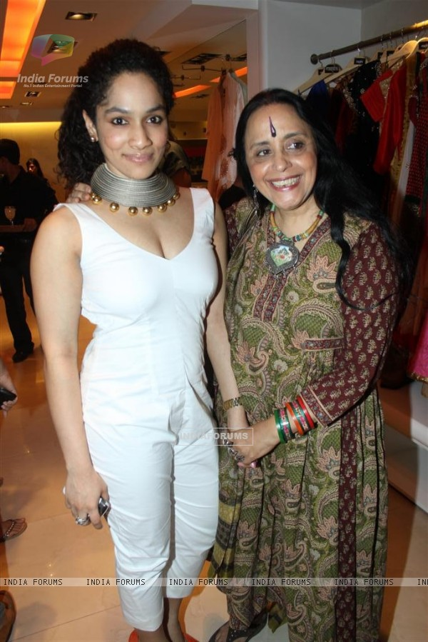 Ila Arun at innaguration of fashion designer Masaba Gupta's first standalone store''MASABA''