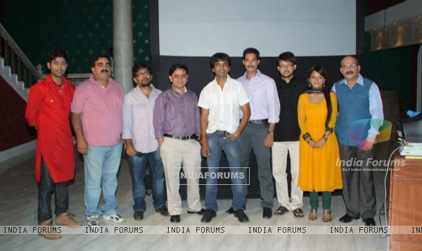 Cast and Crew at Press meet of a new show ''Armanon Ka Balidaan - Aarakshan'' on Imagine