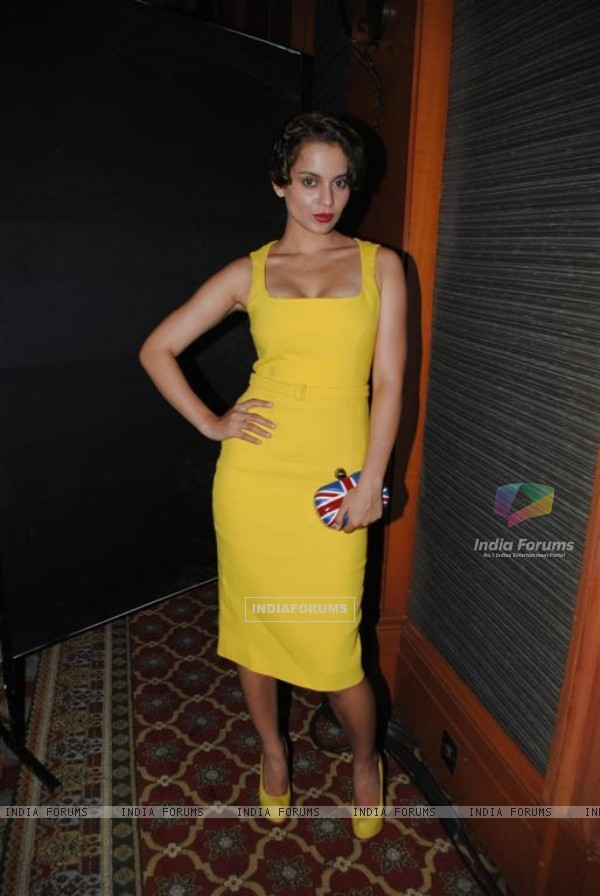 Kangana Ranaut at Once Upon a Time film success bash at JW Marriott in Juhu, Mumbai