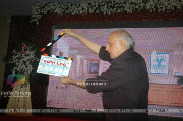Mahesh Bhatt at launch of Kuch Log film based on 26/11, Novotel