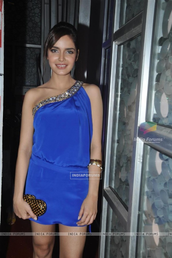 "Shazahn Padamsee at Madhur Bhandarkar upcoming romantic comedy film ""Dil Toh Baccha Hai Ji"" first lo"