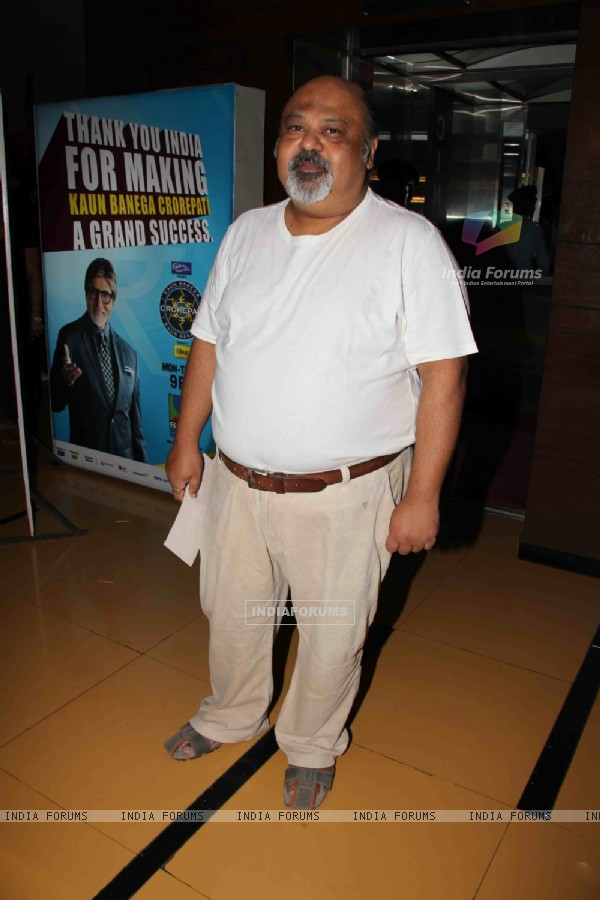 Saurabh Shukla at Premier Of Film Phas Gaye Re Obama at Cinemax Versova