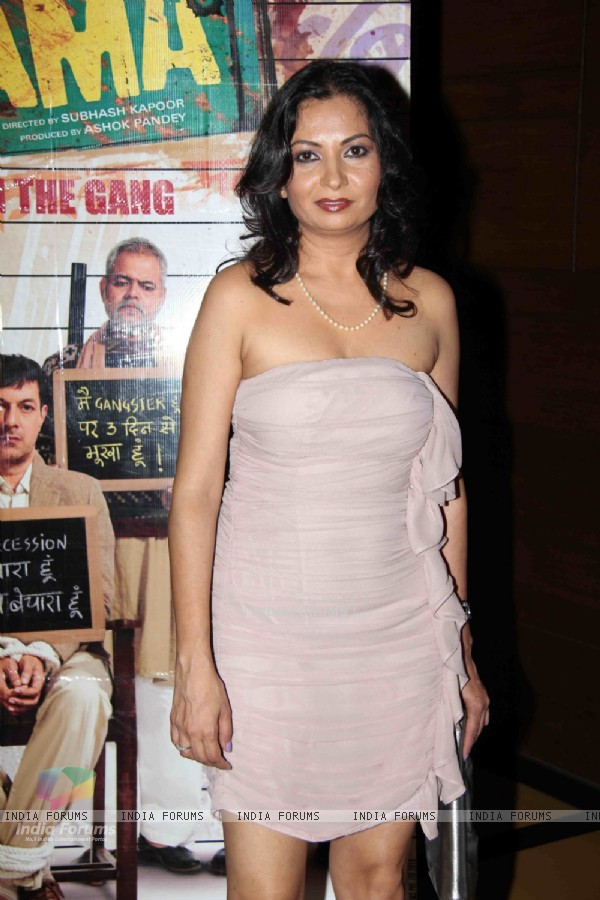 Pragati Pandey at Premier Of Film Phas Gaye Re Obama at Cinemax Versova