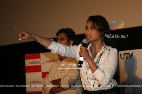 Rani Mukherjee unveiled the new song of her film No One Killed Jessica at Cinemax, Versova, Mumbai