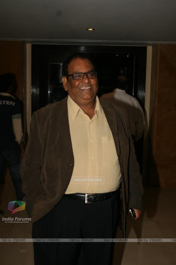 Satish Kaushik at Sameer's daughter Shanchita & Abhishek wedding at Sun and Sands wedding reception
