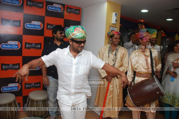 Sajid-Wajid at Radio City Musical-e-azam at Bandra. .