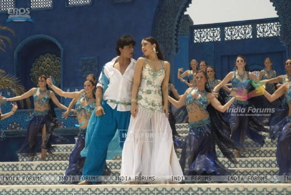 Shahrukh and Kareena in marjani song