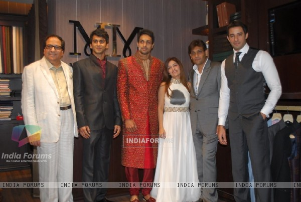 Shekhar Suman and Zulfi launch M11M Men Store launch at Juhu