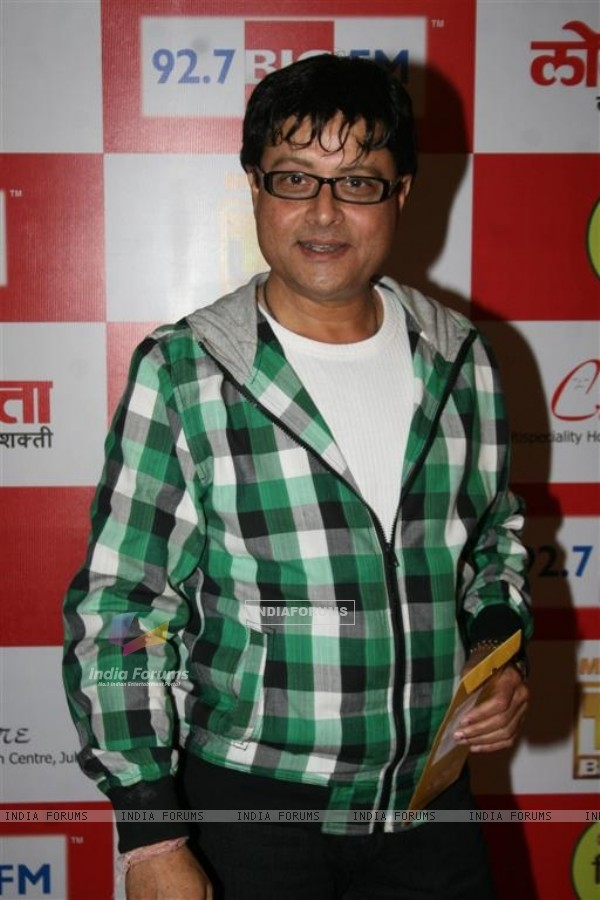 Sachin Pilgaonkar at BIG FM Marathi Awards at the Tulip Star