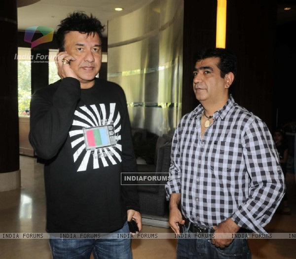 Anu Malik and Kishan Kumar at Music Release of Toonpoor Ka Sure Hero at Navotel Juhu