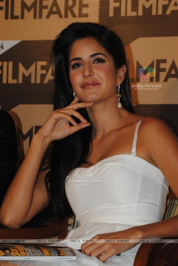 Katrina Kaif unveil Special Anniversay Issue 2010 of Filmfare Magazine at Enigma in Hotel JW Marriott in Juhu, Mumbai