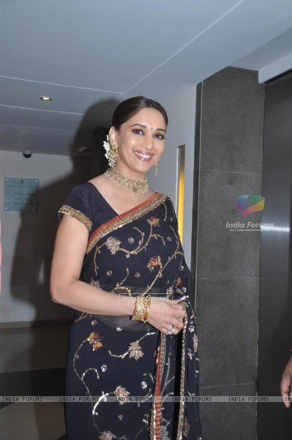 Madhuri Dixit at Music release of 'Yamla Pagla Deewana'