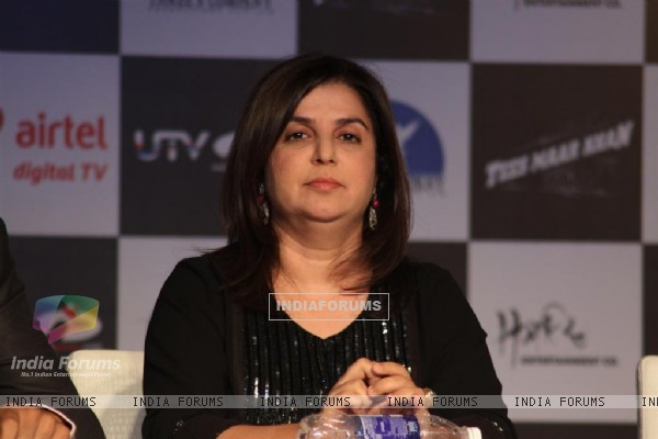Farah Khan at Launch of the 'Tees Maar Khan' Official Game at Novotel, Juhu, Mumbai