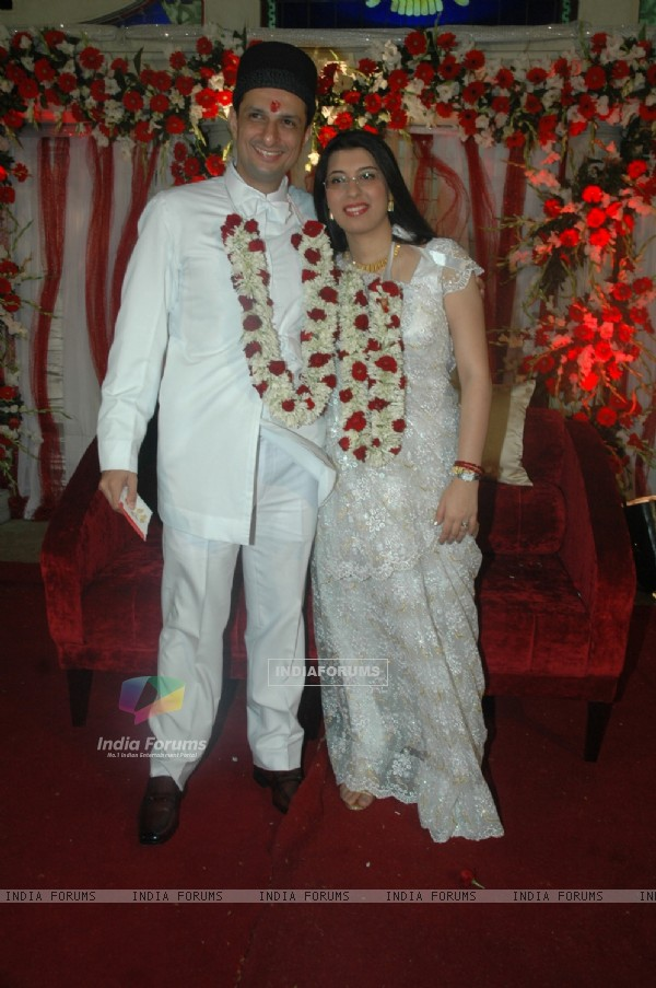 Rushad Rana's Wedding Reception Jogeshwari. .