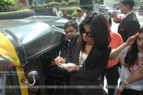 Priyanka at Pearls press conference at Grand Haytt. .