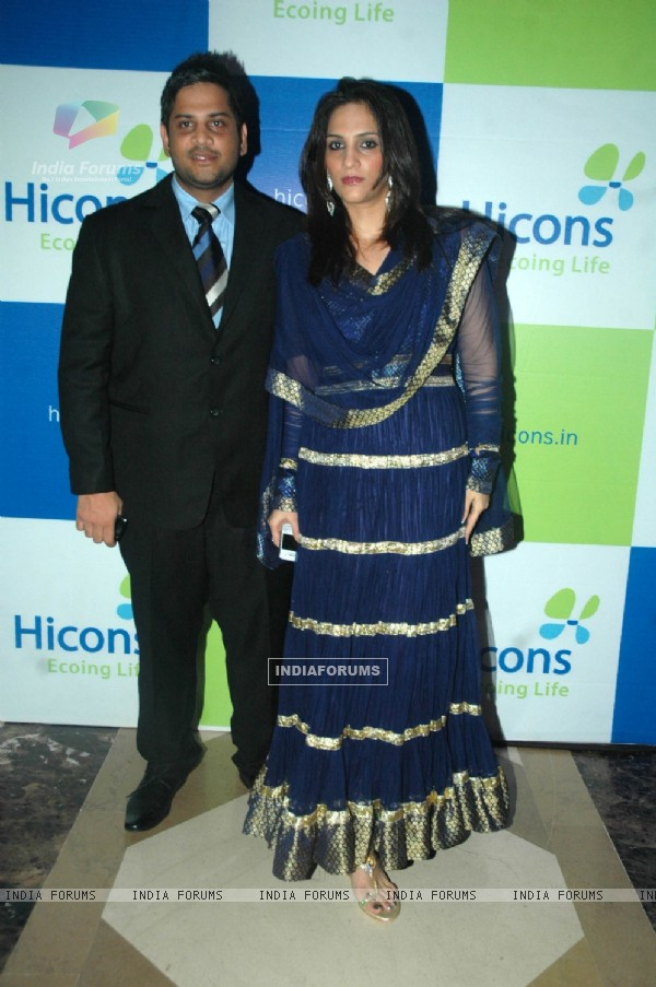 Shibani Kashyap and Kamal R Khan at HICONS bash JW Marriott. .