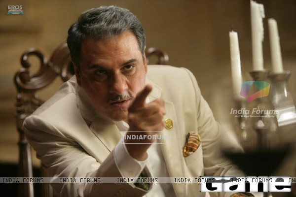 Boman Irani as Op Ramsay in the movie Game(2011)
