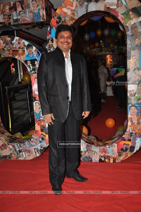 Asit Kumar Modi at 500 episodes celebration party of TMKOC