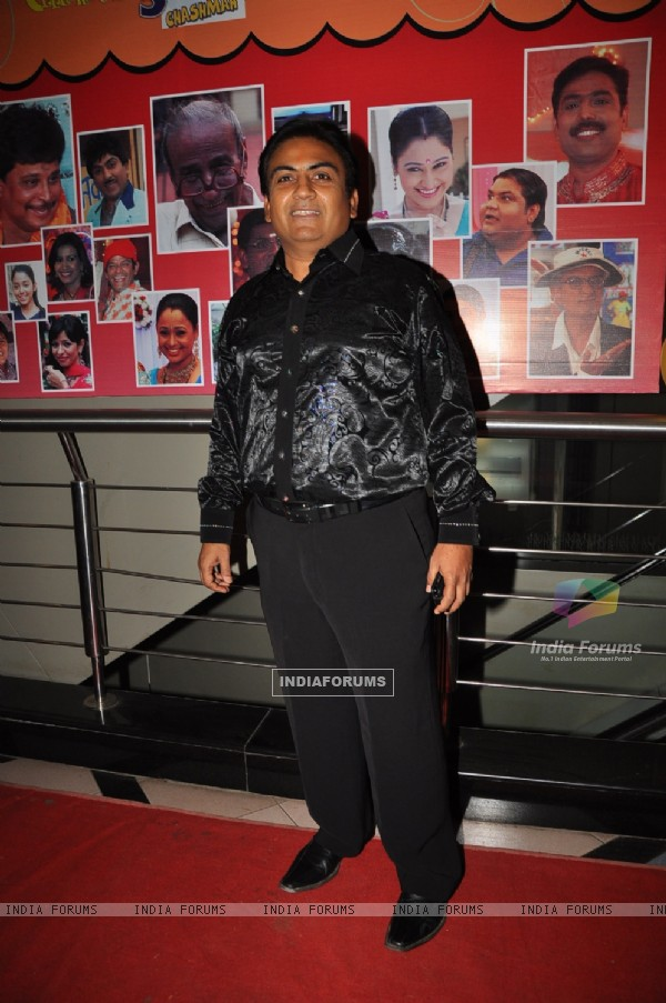 Dilip Joshi at 500 episodes celebration party of TMKOC